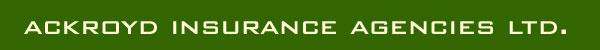 Ackroyd Insurance Agencies Ltd Logo